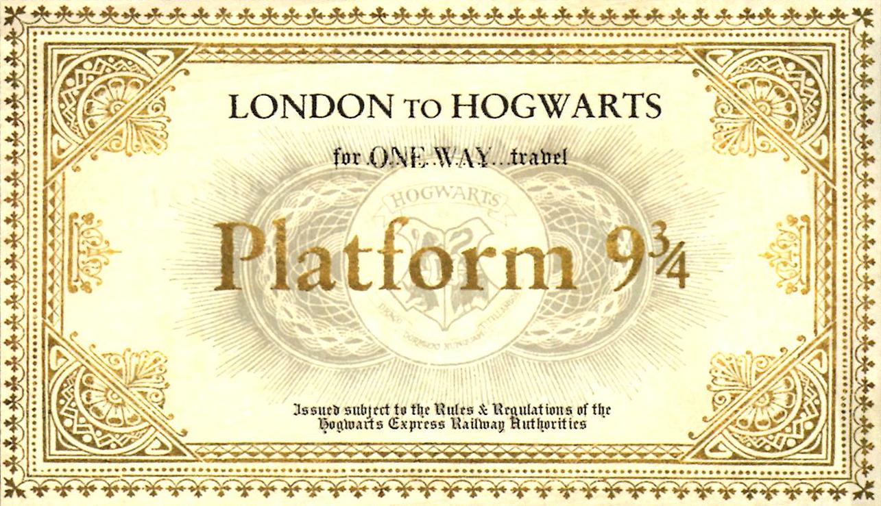 Harry Potter Party Les Invitations Je Suis Vernie